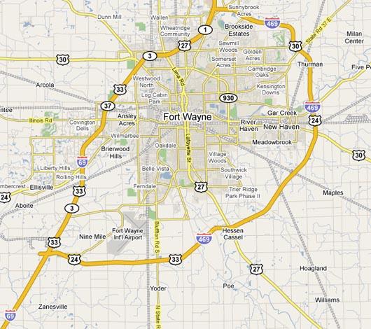 Challenge Tool & Manufacturing on us 30 ohio map, us 41 indiana map, us 40 indiana map, us 31 indiana map,
